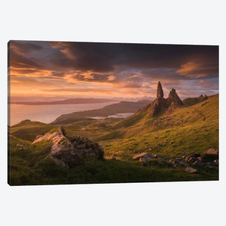 Scotland VI Canvas Print #KRD59} by Daniel Kordan Art Print