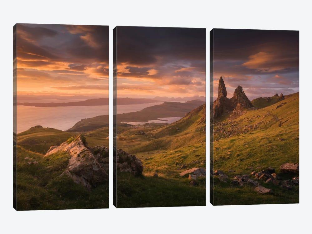 Scotland VI by Daniel Kordan 3-piece Art Print
