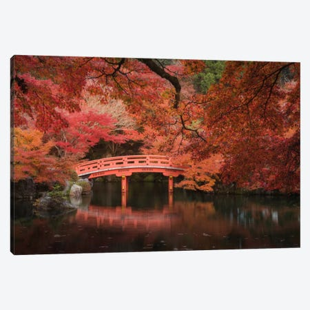 Autumn In Japan V Canvas Print #KRD5} by Daniel Kordan Art Print