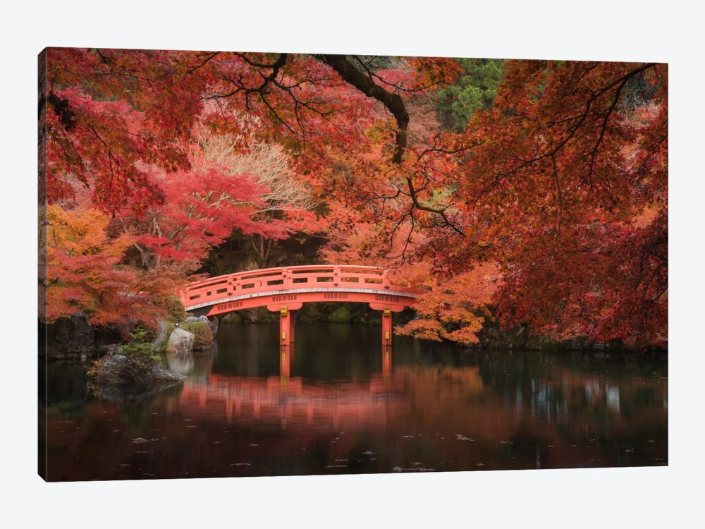 Autumn In Japan V by Daniel Kordan 1-piece Canvas Art Print