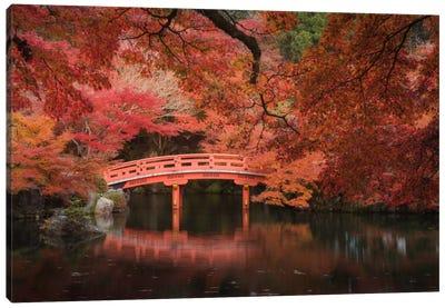 Autumn In Japan V Canvas Art Print