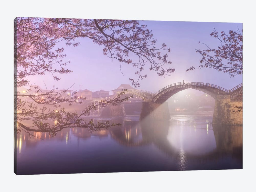 Spring In Japan IV by Daniel Kordan 1-piece Canvas Wall Art