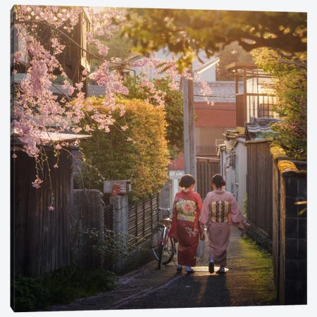 Spring In Japan XIII Canvas Print #KRD72} by Daniel Kordan Art Print