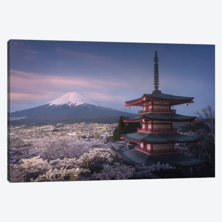 Spring In Japan XXIII Canvas Print #KRD82} by Daniel Kordan Canvas Art