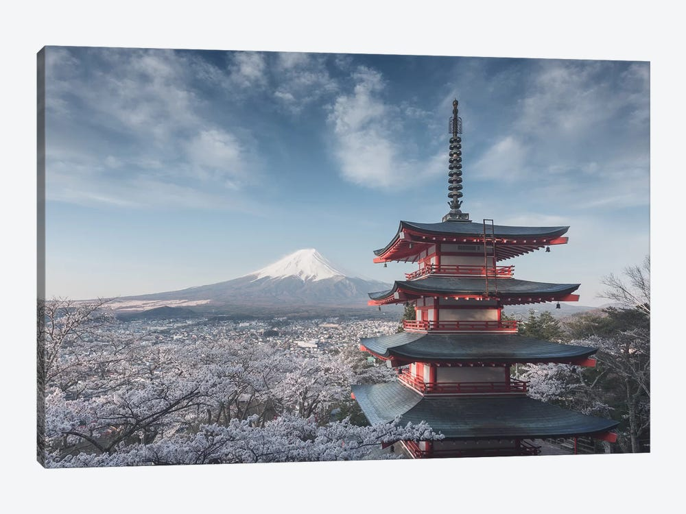 Spring In Japan XXIV 1-piece Canvas Wall Art