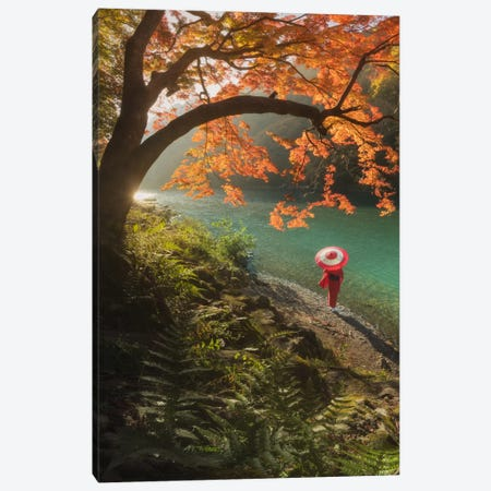 Autumn In Japan VIII Canvas Print #KRD8} by Daniel Kordan Canvas Artwork