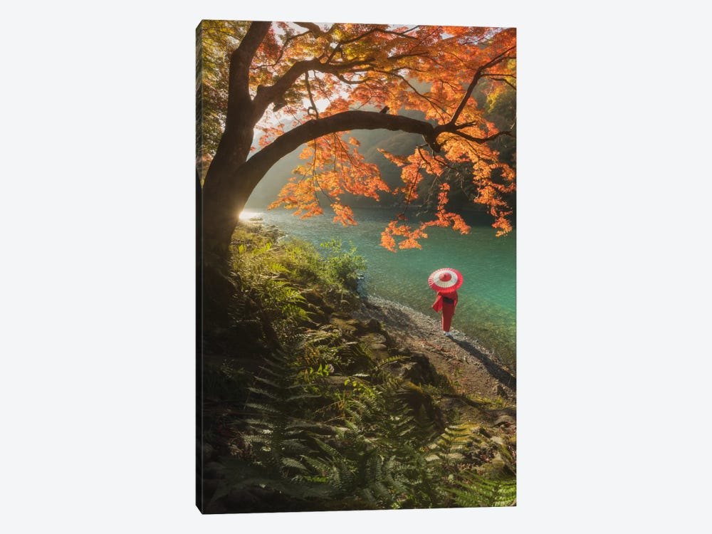 Autumn In Japan VIII by Daniel Kordan 1-piece Canvas Artwork