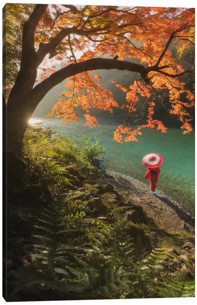 Autumn In Japan VIII Canvas Art Print