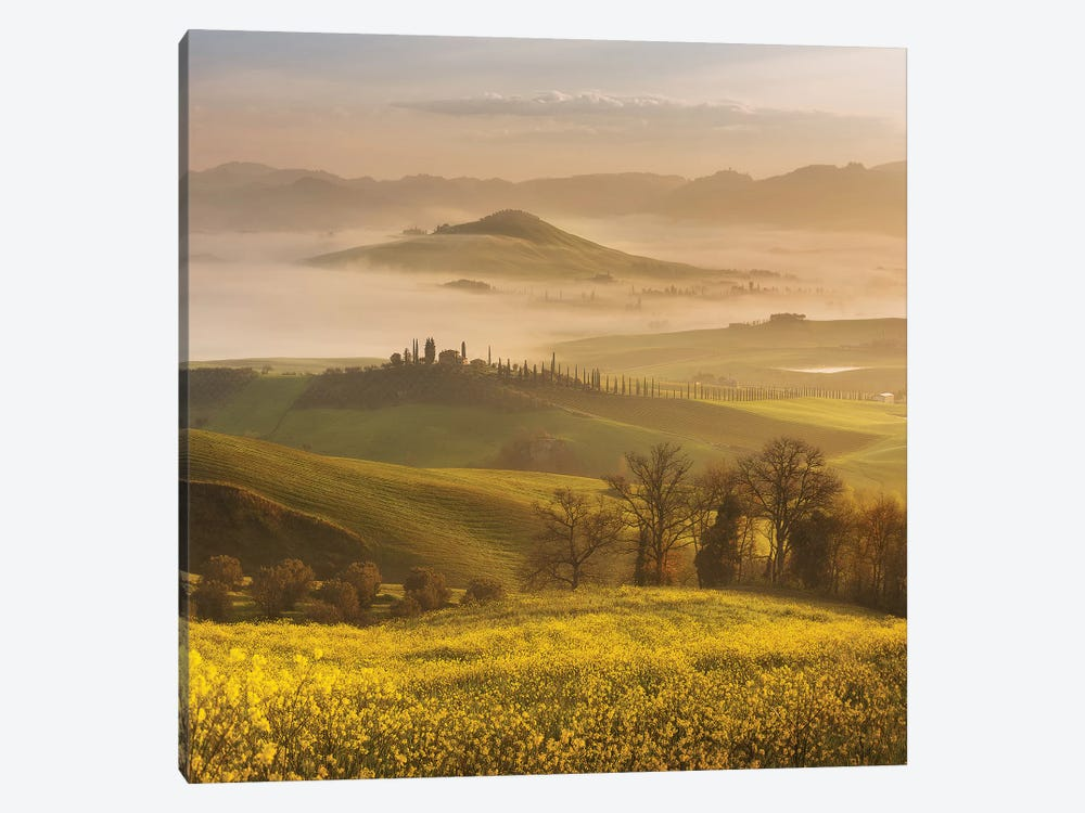 Spring In Tuscany III by Daniel Kordan 1-piece Canvas Art Print