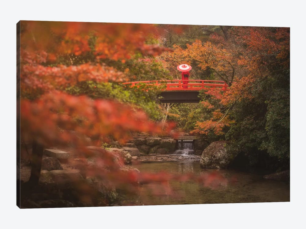 Autumn In Japan IX by Daniel Kordan 1-piece Canvas Art Print