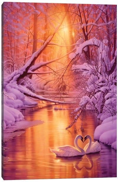 Sweet Remembrance Canvas Art Print