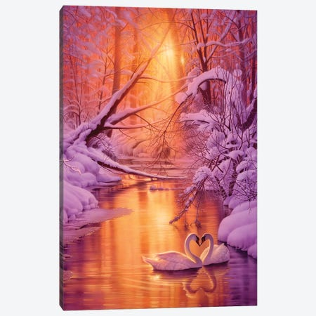 Sweet Remembrance Canvas Print #KRE108} by Kirk Reinert Canvas Print