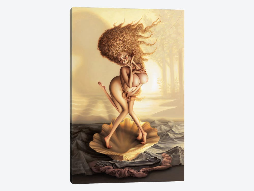 The Birth Of Fabulous by Kirk Reinert 1-piece Canvas Art Print