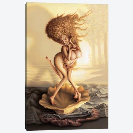The Birth Of Fabulous Canvas Print #KRE110} by Kirk Reinert Canvas Artwork