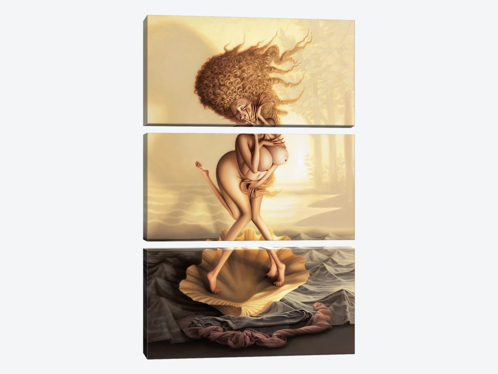 The Birth Of Fabulous 3-piece Art Print