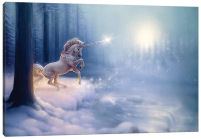 The Crystal Forest Canvas Art Print