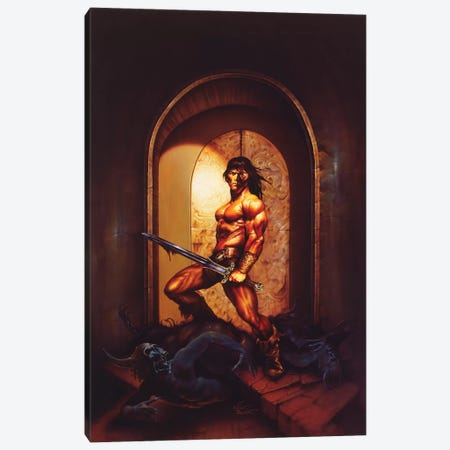 The Guardian Canvas Print #KRE114} by Kirk Reinert Canvas Print