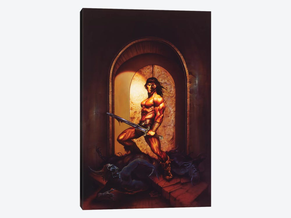The Guardian by Kirk Reinert 1-piece Canvas Print