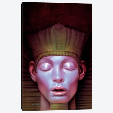 Tutankhamun 3-Piece Canvas #KRE120} by Kirk Reinert Art Print