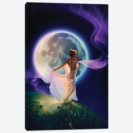 Weaver Of Dreams 3-Piece Canvas #KRE123} by Kirk Reinert Canvas Print