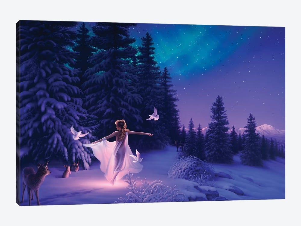 Welcoming The Dawn 1-piece Canvas Wall Art