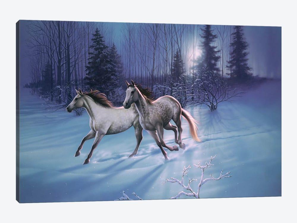 Winter Evening by Kirk Reinert 1-piece Art Print