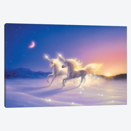 Winter Wonderland 3-Piece Canvas #KRE129} by Kirk Reinert Canvas Art Print