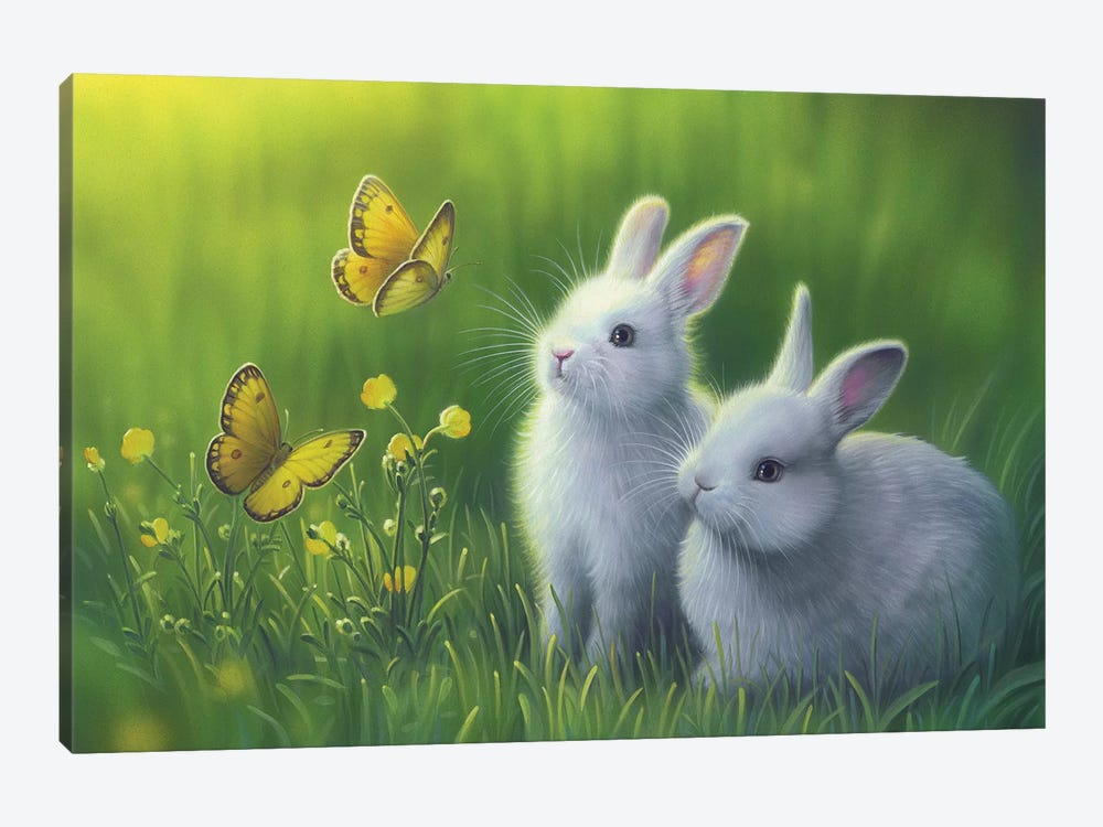 Buttercups by Kirk Reinert 1-piece Canvas Artwork