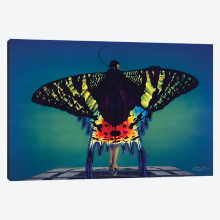 Butterfly Canvas Print #KRE16} by Kirk Reinert Canvas Print
