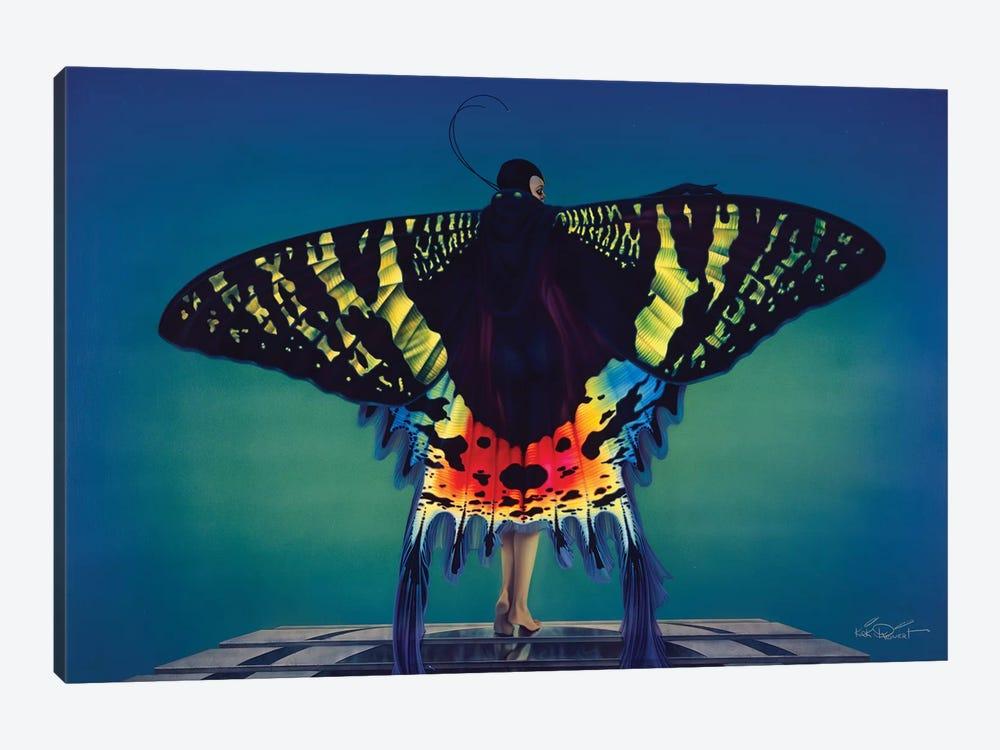 Butterfly by Kirk Reinert 1-piece Canvas Print