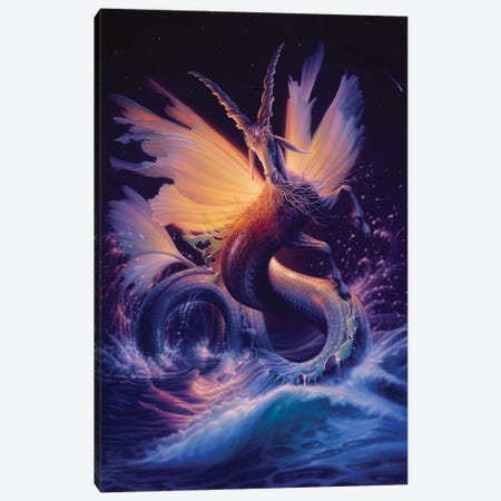 Capricorn Canvas Print #KRE17} by Kirk Reinert Canvas Print
