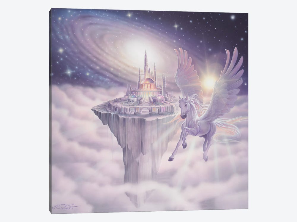 Castle In The Sky by Kirk Reinert 1-piece Canvas Art