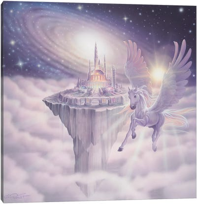 Castle In The Sky Canvas Art Print