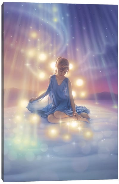 Celebration II, Aurora Dreams I Canvas Art Print