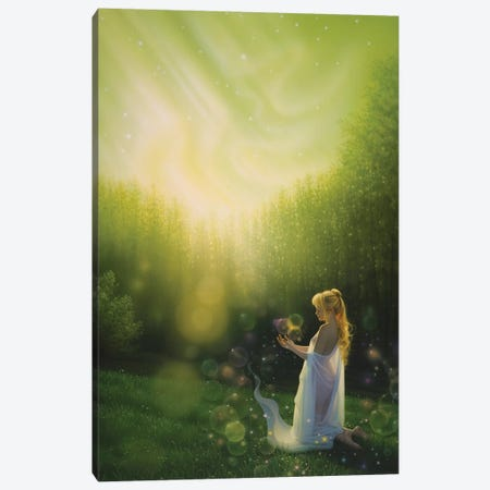 Celestial Friends Canvas Print #KRE25} by Kirk Reinert Canvas Wall Art