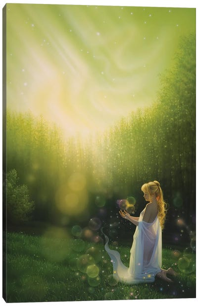 Celestial Friends Canvas Art Print