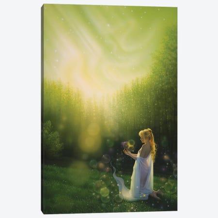 Celestial Friends Canvas Print #KRE25} by Kirk Reinert Canvas Wall Art