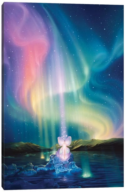 Crystal Beams Canvas Art Print