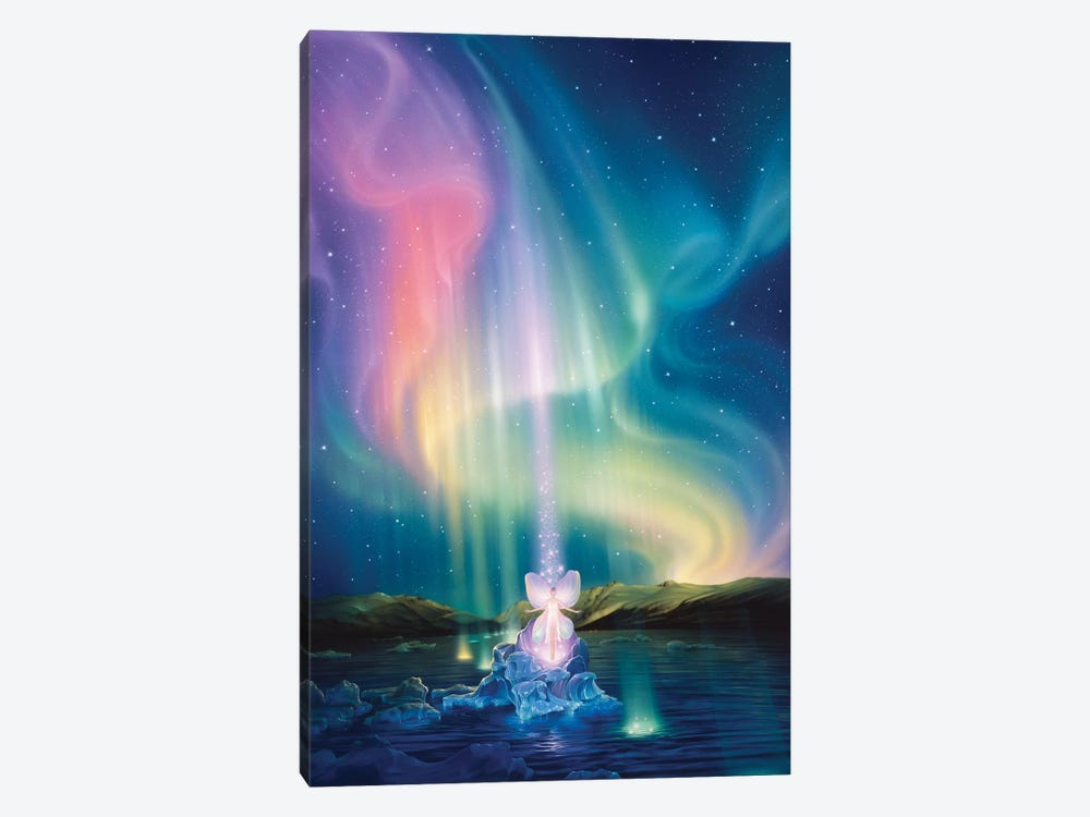 Crystal Beams by Kirk Reinert 1-piece Art Print