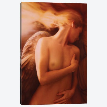 Angel Canvas Print #KRE2} by Kirk Reinert Art Print