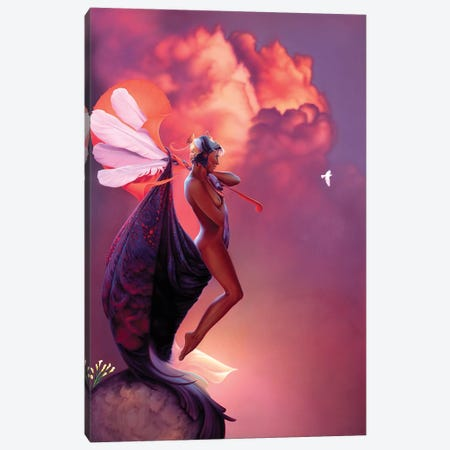 Dreams Of Spring Canvas Print #KRE32} by Kirk Reinert Canvas Art