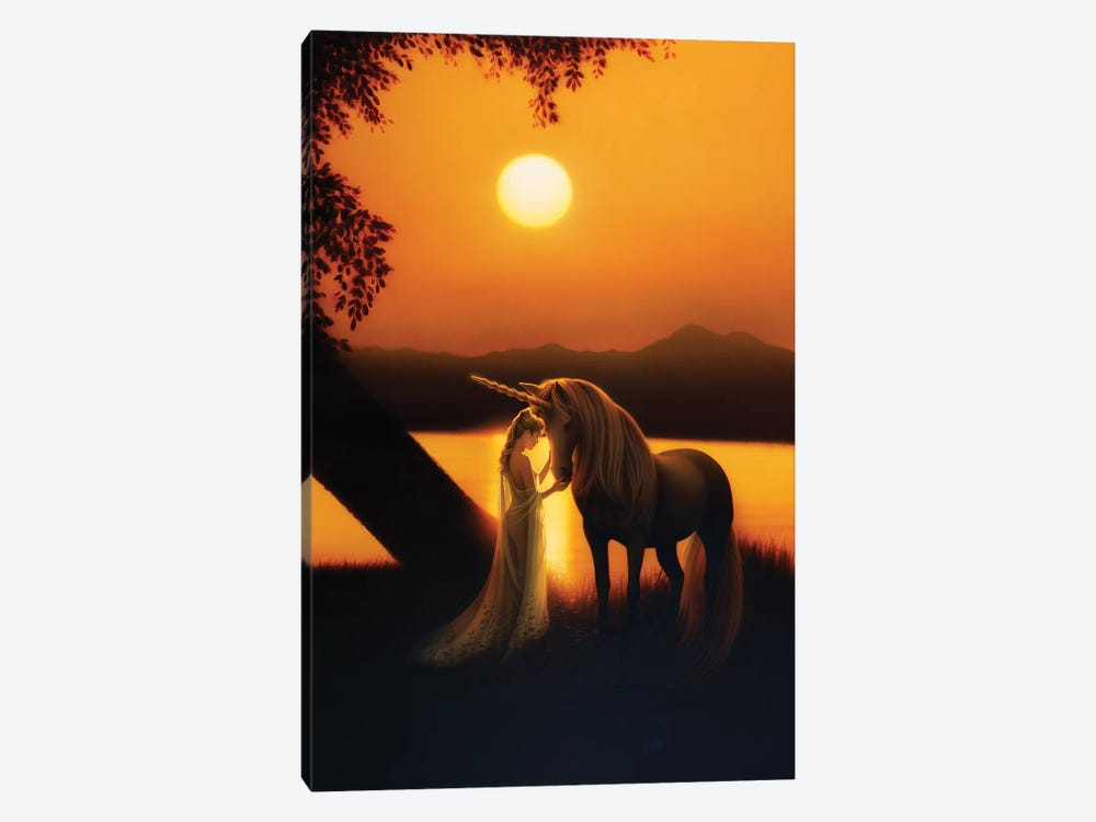 Enchanted Evening I 1-piece Canvas Art