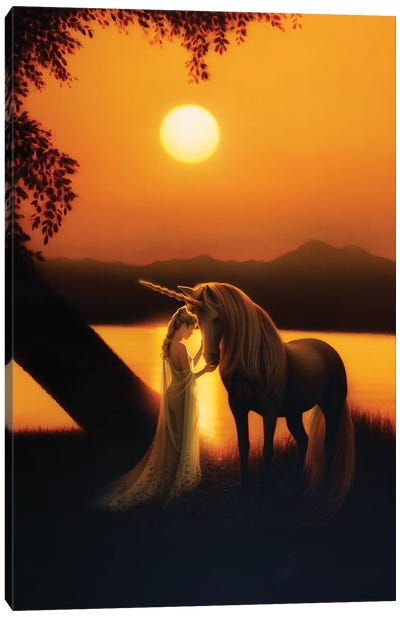 Enchanted Evening I Canvas Art Print
