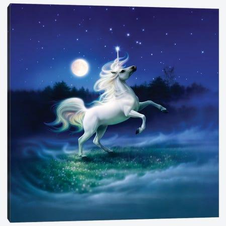 Enchanted Evening II 3-Piece Canvas #KRE34} by Kirk Reinert Art Print
