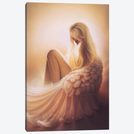 Angelic Canvas Print #KRE3} by Kirk Reinert Canvas Art Print