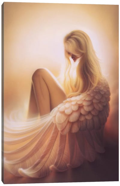 Angelic Canvas Art Print