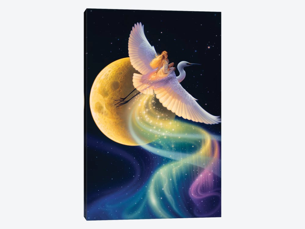 Flight Of The Aurora by Kirk Reinert 1-piece Canvas Art Print
