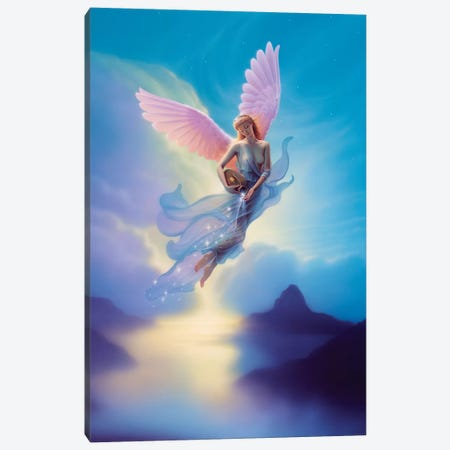 Aquarius Canvas Print #KRE4} by Kirk Reinert Canvas Artwork