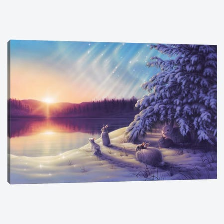 Hello Sunshine Canvas Print #KRE55} by Kirk Reinert Canvas Print