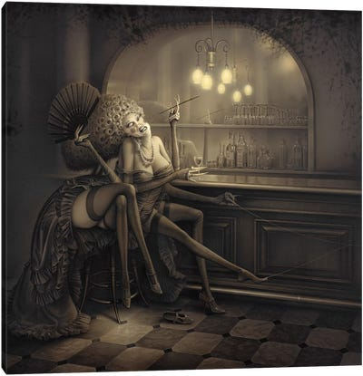 Ida The Spider Canvas Art Print